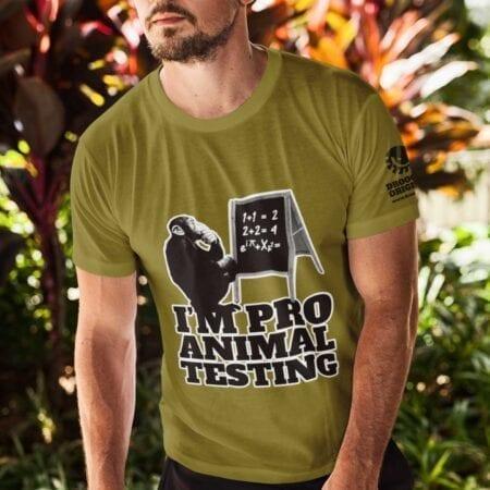 DR0057 Animal Testing t-shirt