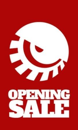 Opening Sale Tab